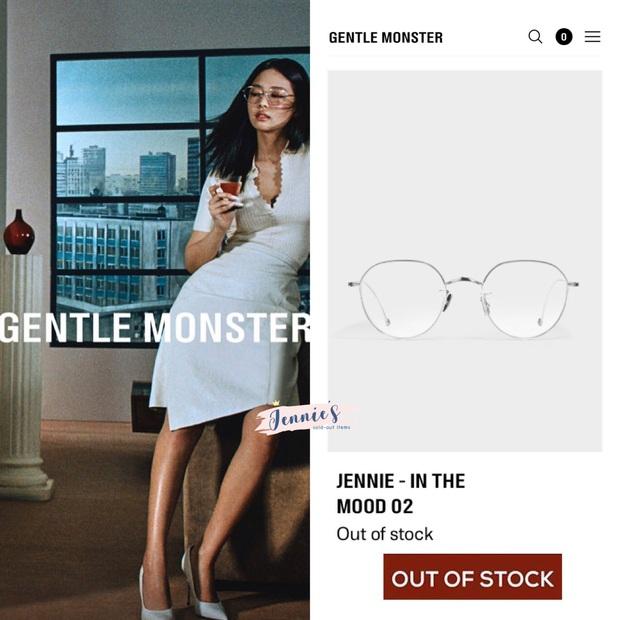 BST kính Gentle Monster x Jennie vừa mở bán đã sold out chỉ trong 1 nốt nhạc, web hãng bị đánh sập - Ảnh 11.