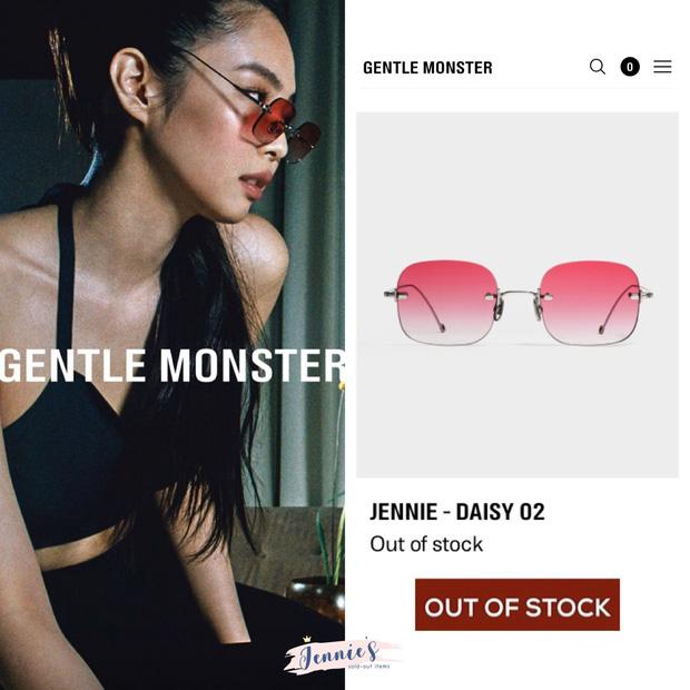 BST kính Gentle Monster x Jennie vừa mở bán đã sold out chỉ trong 1 nốt nhạc, web hãng bị đánh sập - Ảnh 12.