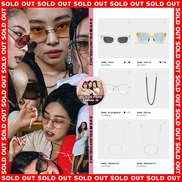 BST kính Gentle Monster x Jennie vừa mở bán đã sold out chỉ trong 1 nốt nhạc, web hãng bị đánh sập - Ảnh 4.