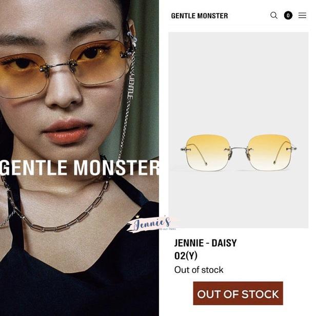 BST kính Gentle Monster x Jennie vừa mở bán đã sold out chỉ trong 1 nốt nhạc, web hãng bị đánh sập - Ảnh 9.
