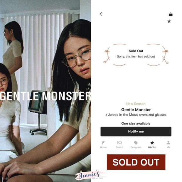BST kính Gentle Monster x Jennie vừa mở bán đã sold out chỉ trong 1 nốt nhạc, web hãng bị đánh sập - Ảnh 10.
