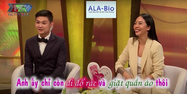 Hana Giang Anh và chồng lên show hôn nhân tâm sự chuyện gặp nhau ở bar, dọn về ở chung sau 1 tháng hẹn hò - Ảnh 3.
