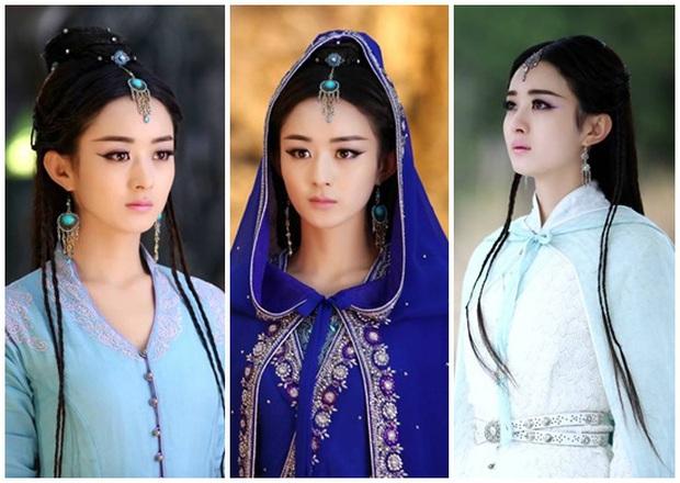 Visual khó quên khi mỹ nhân mặc đồ cổ trang: Lưu Thi Thi - Triệu Lệ Dĩnh đẹp kinh diễm nhưng khó lật đổ Dương Mịch - Ảnh 5.