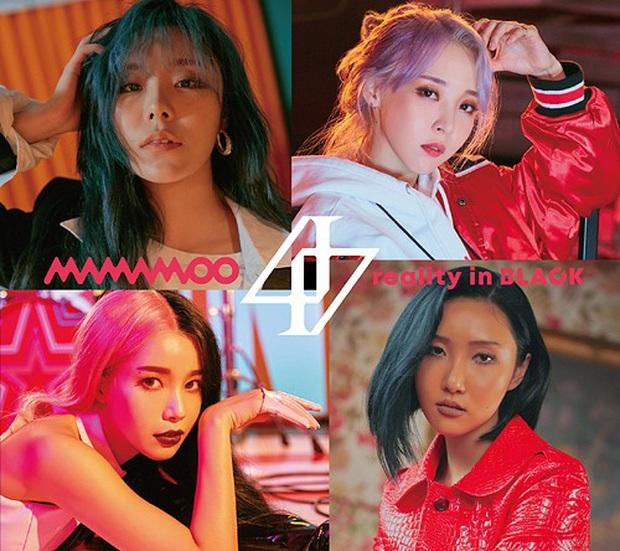 Album Nhật tháng 3 của nghệ sĩ Kpop: MAMAMOO bị nhóm nữ concept rùng rợn vượt mặt, em trai TWICE gấp 4 lần thành tích đàn anh chung nhà - Ảnh 7.