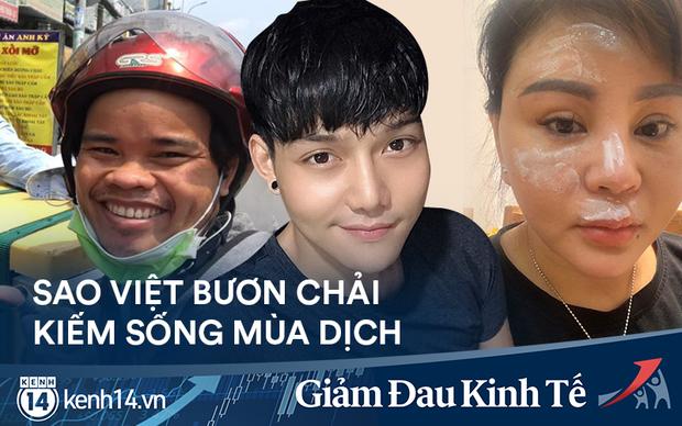 Muôn nỗi khó khăn của sao Việt kiếm sống mùa dịch: Phát khóc vì bị bom hàng, gặp tai nạn nghiêm trọng vì làm shipper - Ảnh 2.