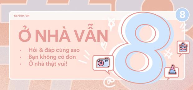 """[Livestream] Hồng Quế giải đáp mọi thắc mắc về tin đồn tình cảm với Huỳnh Anh và tham gia thử thách tại """"Ở nhà cũng 8"""" - Ảnh 4."""