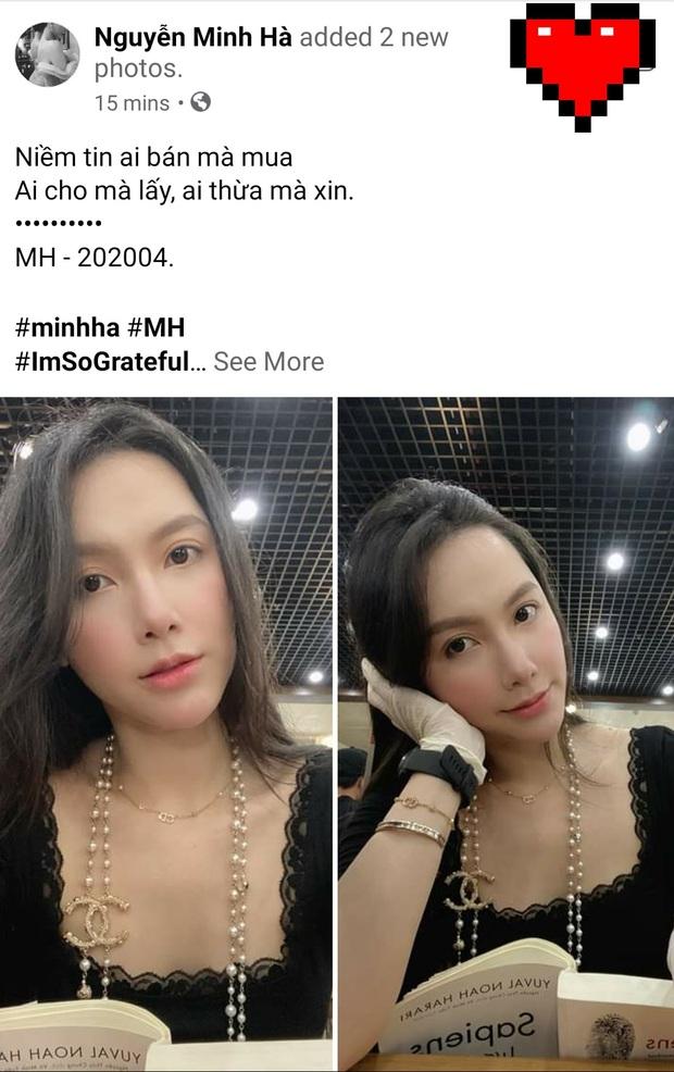 Nghi vấn lộ loạt ảnh thân mật với tình mới ở sân bay, MC Minh Hà chính thức lên tiếng: Mình và bạn chỉ ghé gần để chào hỏi - Ảnh 5.