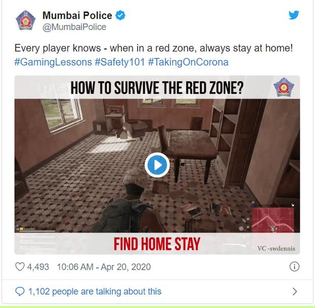 Chết cười với cách cảnh sát Ấn Độ sử dụng PUBG Mobile để giữ chân người dân ở trong nhà tránh dịch - Ảnh 2.