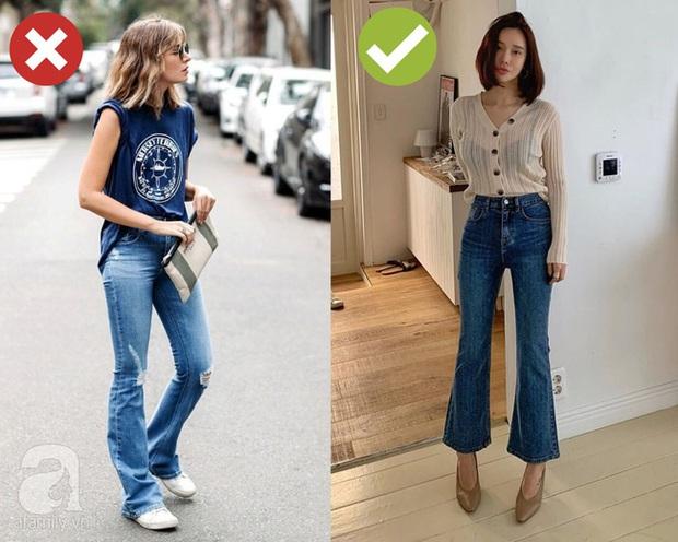 3 bộ đôi quần jeans + giày dép các BTV thời trang không bao giờ muốn diện vì chúng dìm dáng ghê gớm - Ảnh 2.
