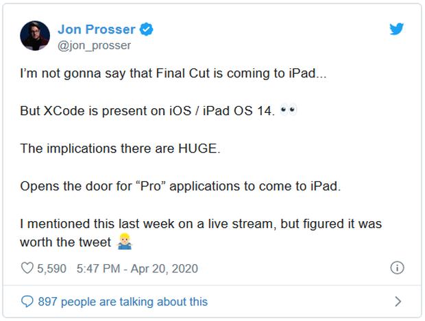 Nếu điều này là thật, Apple sẽ nâng iPad lên một tầm cao mới - Ảnh 1.