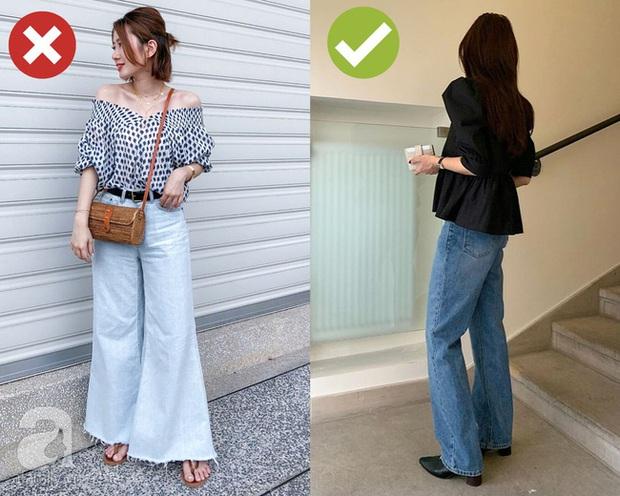 3 bộ đôi quần jeans + giày dép các BTV thời trang không bao giờ muốn diện vì chúng dìm dáng ghê gớm - Ảnh 3.