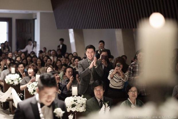 Những chàng trai vàng trong làng đi đám cưới: Lee Min Ho, Hyun Bin làm lu mờ cả chú rể, gây chú ý nhất là cặp đôi này trong hôn lễ của Song - Song - Ảnh 6.