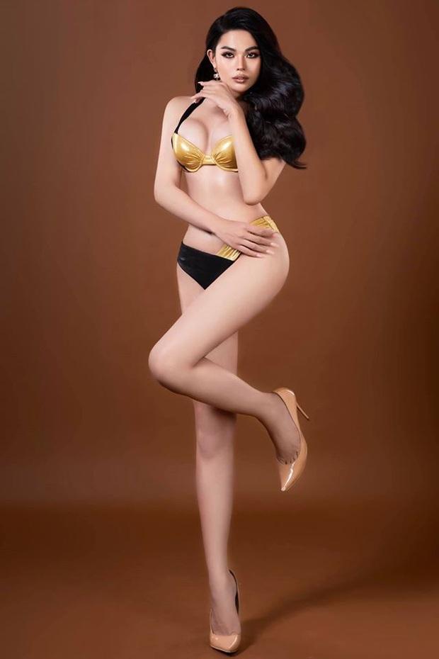 Lương Mỹ Kỳ đã có đối thủ: Mẫu chuyển giới sinh năm 2001 body bốc lửa, hóa ra từng thi Vietnams Next Top Model - Ảnh 9.