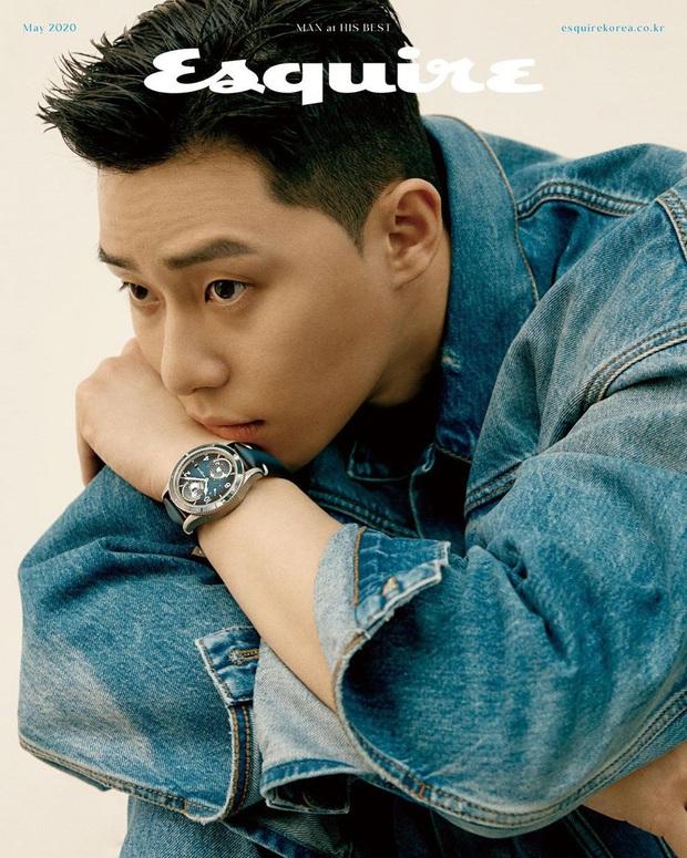 Ông chủ Danbam Park Seo Joon cuối cùng đã từ bỏ đầu hạt dẻ, lột xác trên bìa tạp chí: Thế này chị em sống sao? - Ảnh 2.