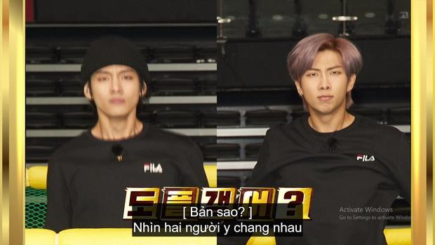 Kỷ niệm tập 100 của show thực tế riêng, BTS chơi đánh cầu bằng chảo và tạo một loạt meme khiến fan cười ngất - Ảnh 5.
