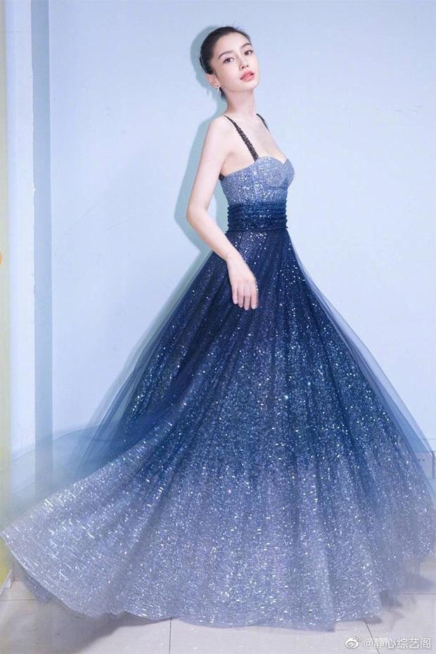 Đẳng cấp mỹ nhân Cbiz diện váy lấp lánh: Angela Baby đẹp tựa cổ tích, Nhiệt Ba - Dương Tử thăng hạng visual vùn vụt - Ảnh 4.