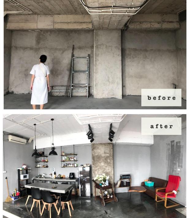 Nhà đi thuê phiên bản cao cấp của admin Nghiện nhà: Căn duplex rộng 250m2, ngày nào cũng tự sơn sửa đến tận nửa đêm - Ảnh 2.