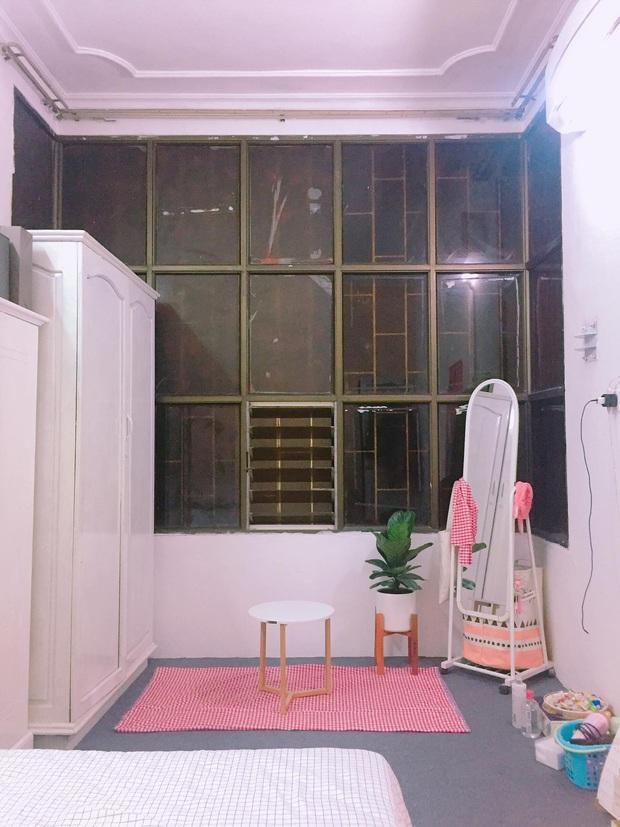 Gái xinh tự tay sơn lại cả phòng, hy sinh bộ quần áo để lột xác cho căn phòng trọ cũ thành tone hồng cực cute - Ảnh 4.
