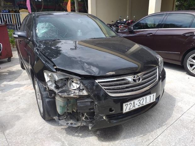 Vật nhỏ rơi lại hiện trường tố cáo tài xế Camry gây tai nạn ở Đà Nẵng rồi lái xe bỏ trốn Quảng Ngãi - Ảnh 1.