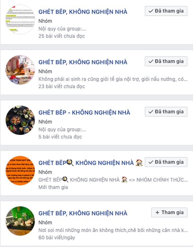 """Góc phát hiện: Thì ra trên Facebook có cực nhiều hội """"ghét bếp - không nghiện nhà"""", group nào cũng sở hữu lượng thành viên đông khủng khiếp - Ảnh 6."""