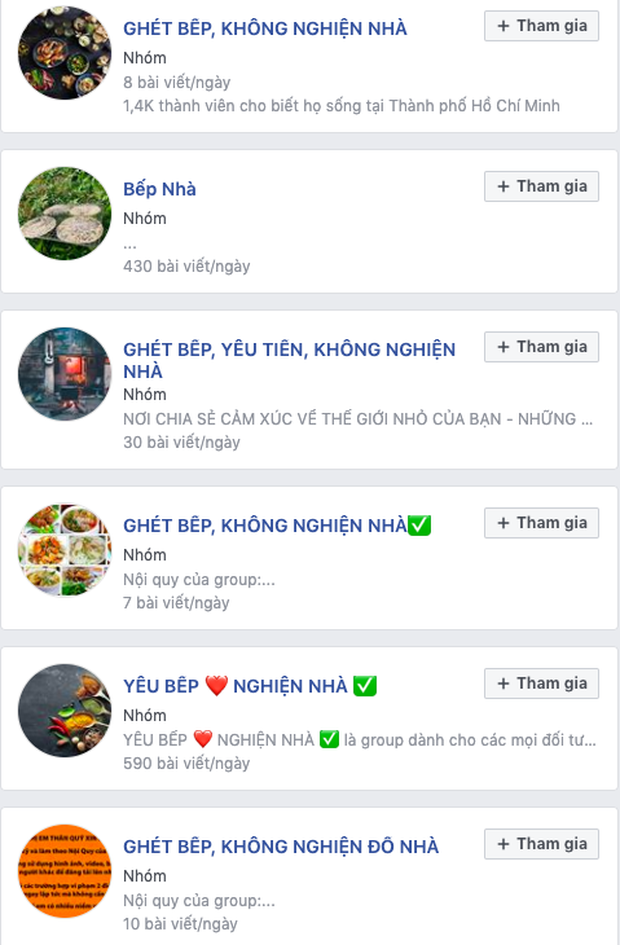 """Góc phát hiện: Thì ra trên Facebook có cực nhiều hội """"ghét bếp - không nghiện nhà"""", group nào cũng sở hữu lượng thành viên đông khủng khiếp - Ảnh 8."""