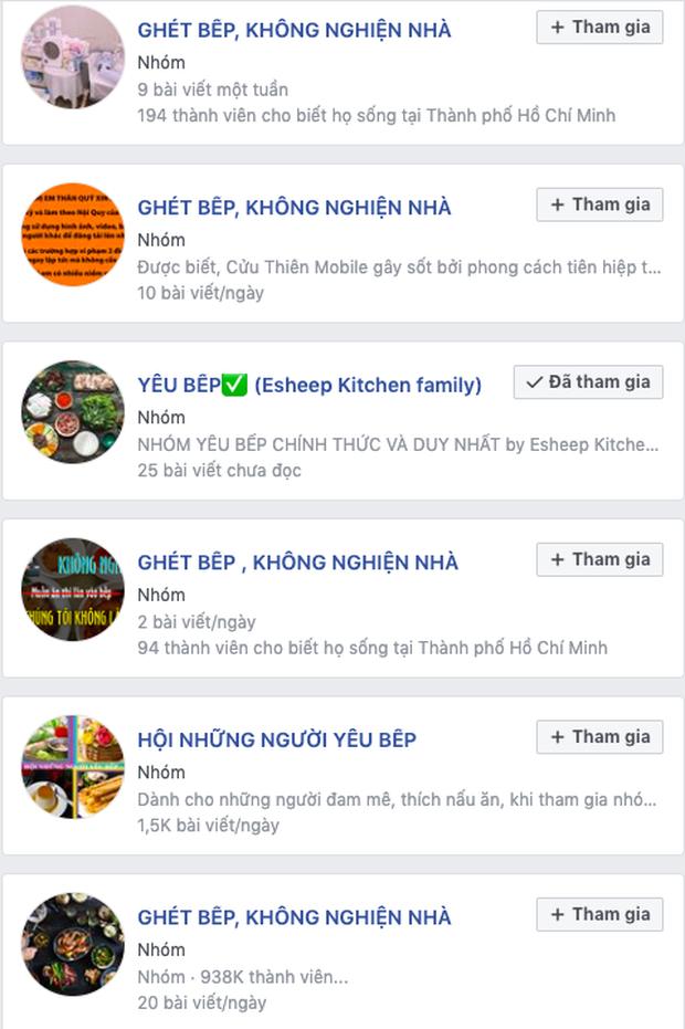 """Góc phát hiện: Thì ra trên Facebook có cực nhiều hội """"ghét bếp - không nghiện nhà"""", group nào cũng sở hữu lượng thành viên đông khủng khiếp - Ảnh 7."""