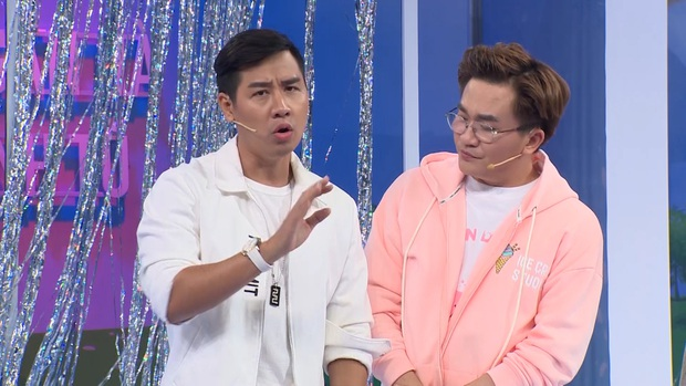 Đại Nghĩa giật mình khi bị Nguyên Khang phản ánh gu thời trang trên sóng truyền hình - Ảnh 3.