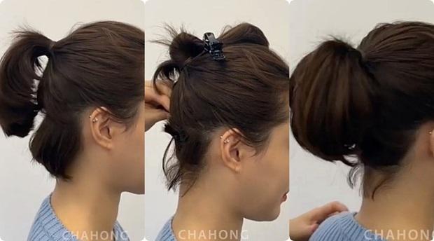 Buộc tóc đuôi ngựa thôi mà vẫn giấu được trán dô, hói, mặt béo tròn... chỉ nhờ lợi dụng vài lọn tóc mai - Ảnh 8.