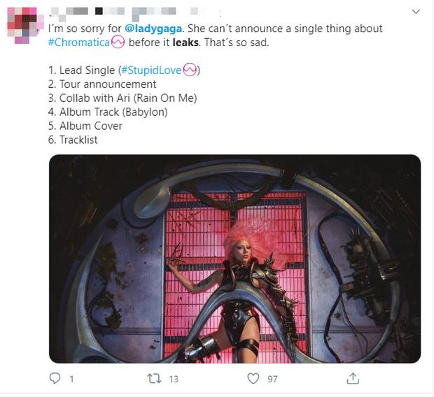 Lady Gaga collab với BLACKPINK hot đến mức đích thân Đại sứ quán Mỹ đăng quảng bá, nhưng đáng buồn là album đã bị leak gần hết! - Ảnh 10.
