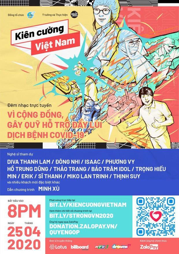 Đại nhạc hội trực tuyến lớn nhất Vpop: Đông Nhi, Isaac, Min, Erik cùng hơn 20 nghệ sĩ sẵn sàng mang đến cho khán giả những màn trình diễn độc nhất! - Ảnh 2.