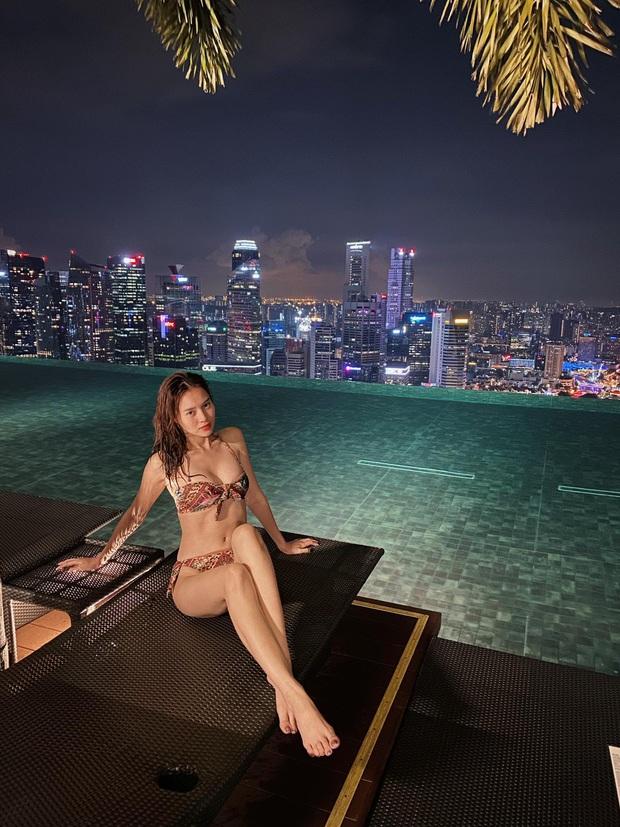 Thám tử showbiz tung thêm bằng chứng Ninh Dương Lan Ngọc - Chi Dân du lịch ở Singapore, gì mà lộ liễu thế này? - Ảnh 3.