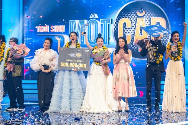 HLV Dương Hoàng Yến đưa học trò MC Thu Hoài lên ngôi Quán quân Trời sinh một cặp - Ảnh 1.