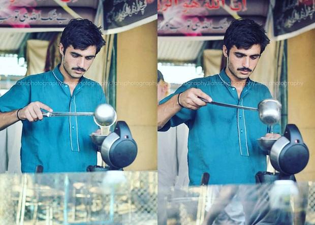 Vô tình lọt vào ống kính người lạ 4 năm trước, anh chàng đẹp trai bán trà không ngờ số phận của mình sẽ thay đổi hoàn toàn - Ảnh 2.