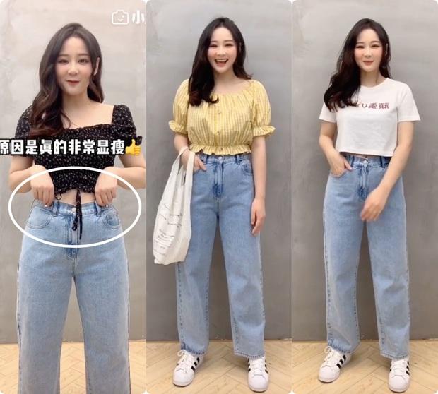 Đây chính xác là chiếc quần jeans ma thuật mà bất kỳ cô nàng bụng béo nào cũng khao khát - Ảnh 2.