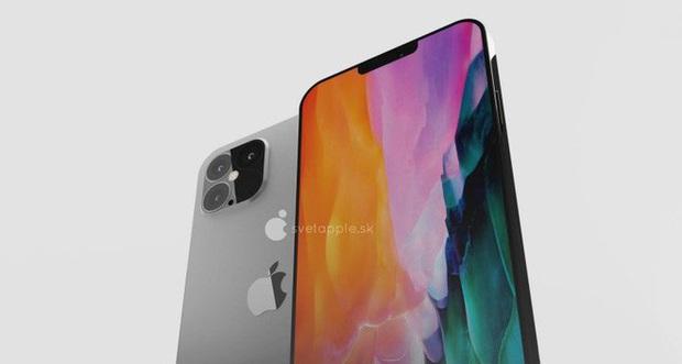 """Lại thêm concept iPhone 12: """"Tai thỏ"""" vẫn còn nhưng hơi sai sai, cảm biến LiDAR chắc chắn sẽ xuất hiện ở camera sau - Ảnh 4."""