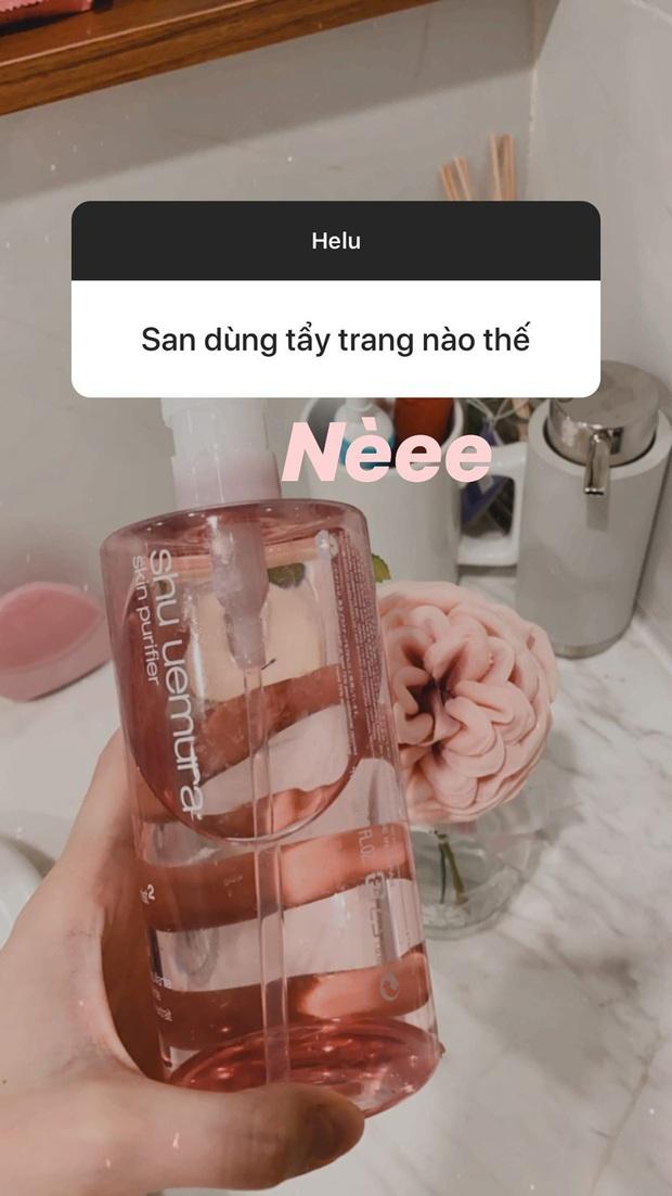 Chẳng phải sữa rửa mặt đắt đỏ, Á hậu Tường San chỉ dùng loại 190k để da mịn mướt không tỳ vết - Ảnh 5.