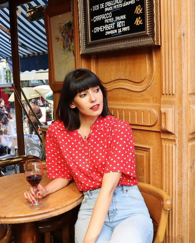 Các người đẹp Pháp thích áo sơ mi ngắn tay cực kỳ, diện lên trẻ trung mà điểm thanh lịch cũng cao ngất - Ảnh 9.
