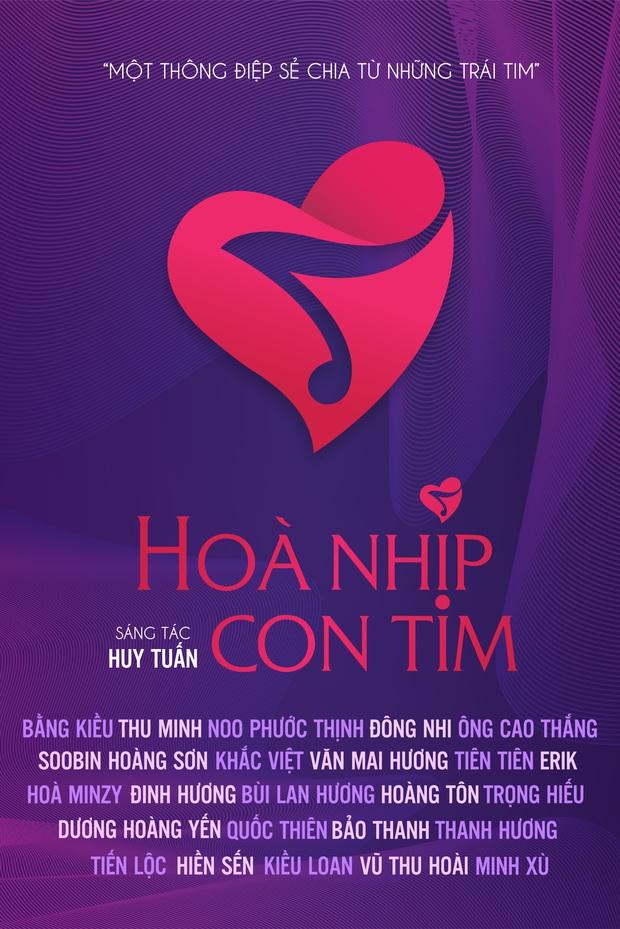 Đông Nhi - Ông Cao Thắng, Noo Phước Thịnh, Erik, Hoà Minzy cùng 30 nghệ sĩ Việt tự quay tự thu âm tại nhà trong dự án Hoà Nhịp Con Tim của nhạc sĩ Huy Tuấn - Ảnh 7.