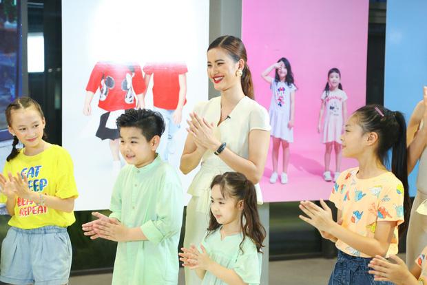 Model Kid: Thí sinh nhí dũng cảm nói sự thật, host Thúy Hạnh trách nhầm HLV Hương Ly trong tập Bán kết - Ảnh 2.