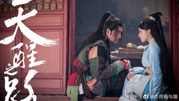Trần Phi Vũ bẹo má, chọc ghẹo mỹ nữ K-Pop trong hậu trường phim cổ trang Thiên Tỉnh Chi Lộ - Ảnh 8.