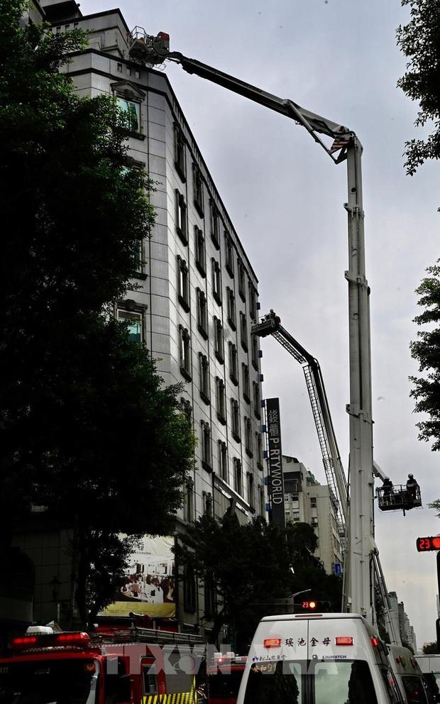Cháy quán Karaoke tại Đài Loan, Trung Quốc: Nhiều người thương vong - Ảnh 1.