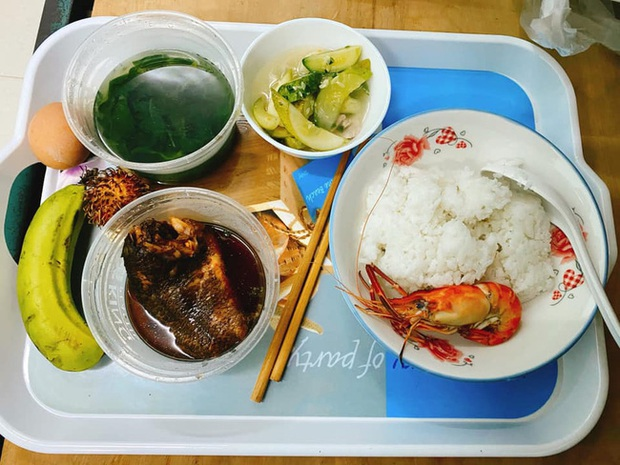 Bà xã Đăng Khôi update tình hình đi cách ly ngày đầu: Cơm ngày 3 bữa ngon chuẩn mẹ nấu, sợ lúc trở về lăn thay vì đi - Ảnh 5.