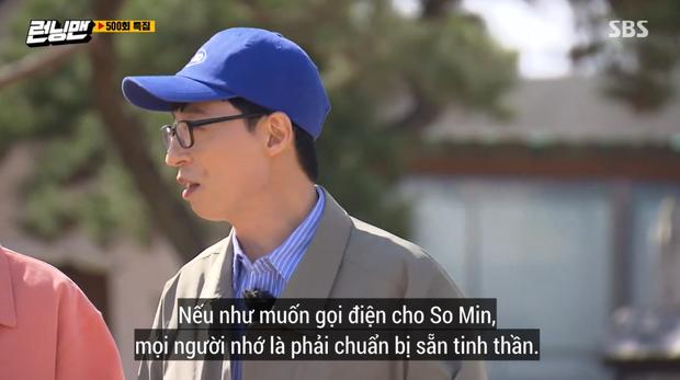 Dàn sao Running Man kỷ niệm tập 500 lên sóng, tiết lộ lý do nên cân nhắc khi gọi điện cho Jeon So Min - Ảnh 4.