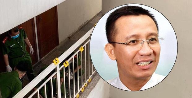 Tìm được đoạn camera ghi hình Tiến sĩ Bùi Quang Tín trước khi tử vong - Ảnh 1.
