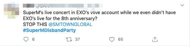 """Cực căng: Fan EXO, NCT, SHINee nổi giận yêu cầu giải tán """"Avengers"""" SuperM, chỉ trích SM xem fan như ATM rút tiền, lôi cả BTS vào so sánh - Ảnh 4."""