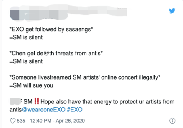 """Cực căng: Fan EXO, NCT, SHINee nổi giận yêu cầu giải tán """"Avengers"""" SuperM, chỉ trích SM xem fan như ATM rút tiền, lôi cả BTS vào so sánh - Ảnh 14."""