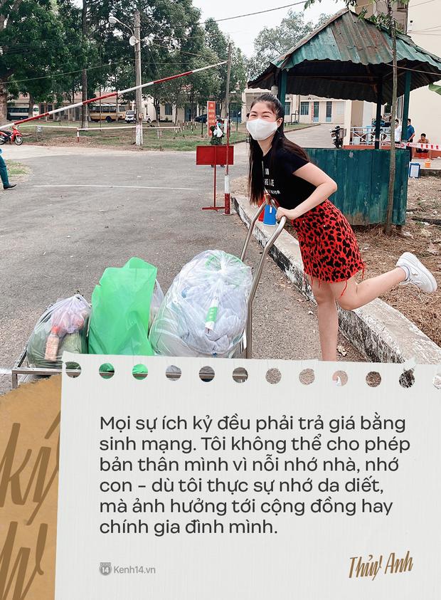 Nhật ký 42 ngày cách ly từ Singapore về Việt Nam của bà xã Đăng Khôi: Sự ích kỷ sẽ trả giá bằng sinh mạng, thương con thì đứng xa con hơn - Ảnh 7.