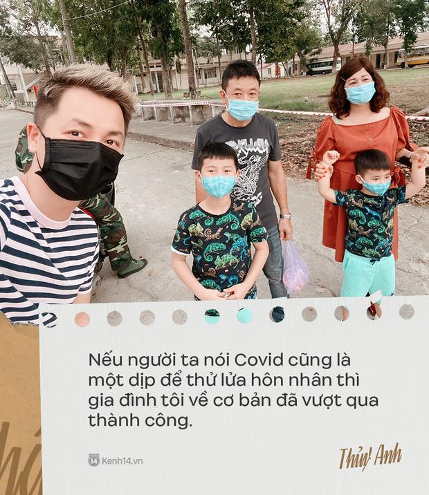 Nhật ký 42 ngày cách ly từ Singapore về Việt Nam của bà xã Đăng Khôi: Sự ích kỷ sẽ trả giá bằng sinh mạng, thương con thì đứng xa con hơn - Ảnh 17.