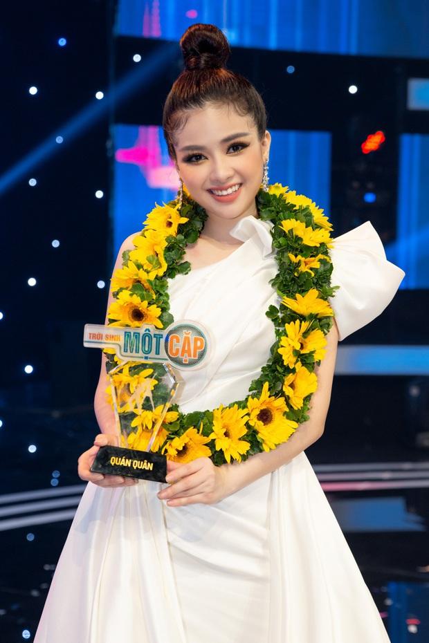 Dương Hoàng Yến nói về chiến thắng đặc biệt tại Trời sinh một cặp: Chưa bao giờ luyện thanh online, gặp nhau hát phải đeo khẩu trang thế này! - Ảnh 3.