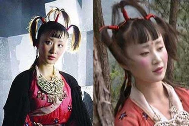 Khóc thét với loạt tạo hình kì lạ của mỹ nhân phim cổ trang Hoa ngữ: Đầu dưa lưới Châu Tấn chưa hú hồn bằng tóc rễ cây Dương Mịch - Ảnh 13.
